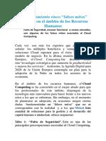 Meta4 desmiente cinco falsos mitos del Cloud en el ámbito de los Recursos Humanos