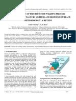 Optimization of Friction Stir Welding Process