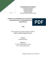 Desarrollo de Herramientas de ArcGis Para El Calculo de Indicadores Fisicos y Socieconomnicos de Cuencas Hidrograficas