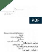Artículo_Construcción de Cohesión Social en El Espacio Público_Sofía G. Peula