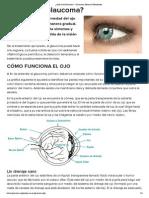 ¿Qué es el Glaucoma_ _ Glaucoma Research Foundation