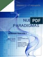 Administración - Nuevas Paradigmas