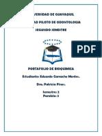 PORTAFOLIO BIOQUIMICA