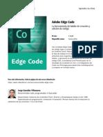 Adobe Edge Code