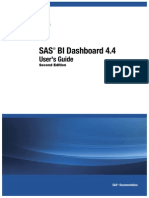 SAS BI Dashboard User Guide