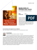 Ejemplo Practico Con Photoshop Poster Romance