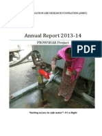 AMRF-Annual Report of PROWSHAR Project 13-14 (Final)