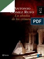 La Abadia de Los Crimenes - Antonio Gomez Rufo