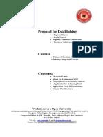3VOU Information Cum Admission Councellor Proposal