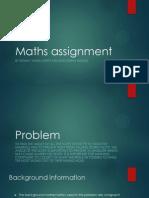 Maths Assignment