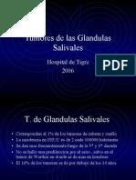 Tumores de las Glandulas Salivales