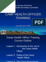 Health Officer Training 19-141
