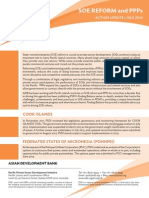 PSDI SOE and PPP reform - Action Update - July 2014