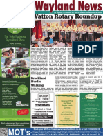 The Wayland News August 2014