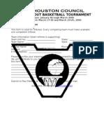 Referee Registration