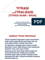 Titrasi Netralisasi
