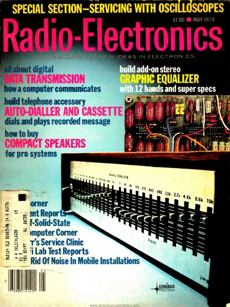 Re 1978 05 Digital Electronics Computer Data Storage Temple Three State Logic Ic Cd4001