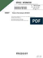 Parts Lbp800 810-Pc