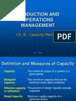 8 Capacity Planning