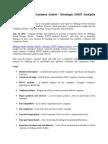 Bilfinger Power Systems GmbH - Strategic SWOT Analysis Review