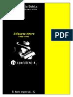 Etiqueta Negra, 1986-1991