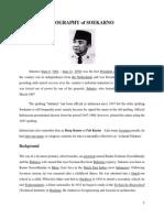 Biography of Soekarno