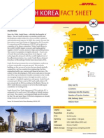 Exporting to South Korea - The DHL Fact Sheet