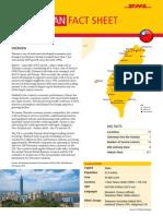 Exporting to Taiwan - The DHL Fact Sheet