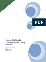 Manila, My Manila