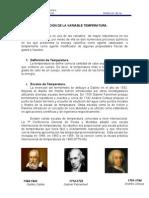 MEDICIÓN DE LA VARIABLE TEMPERATURA. 1ra Parte