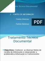 2 - As Fontes de Informa+º+úo