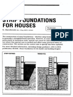 Strip Foudation Excavations