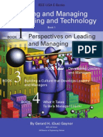 Leading and Managing Engineering and Technology Book 1