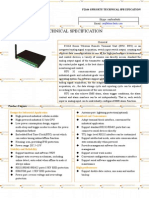 f2164 Gprs Ip Modem Technical Specification