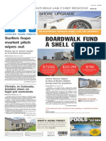 Asbury Park Press front page Thursday, July 24 2014