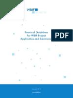 WBIF Guidelines Round 11