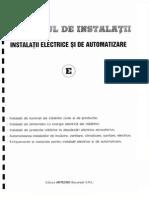 Manualul de Instalatii - Instalatii Electrice Si de Automatizare