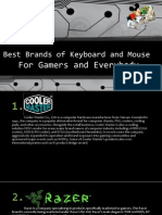 Best Brands of Keyboard and Mouse