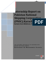 PNSC- Internship Report