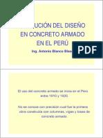Evolucion Del Diseno de Concreto Armado en El Peru Antonio Blanco