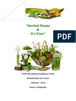 """The herbal plants & its uses from """"The Herbal Trading Co"""""""