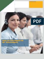 Portfólio de Produtos SAP BusinessObjects