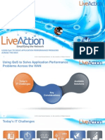 Using QoS and LiveAction to solve application performance programs across the WAN
