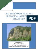 GEO-ENVIRONMENTAL AND BIOLOGICAL ASPECTS OF SITAKUNDA