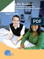 Cpd Teachers Report