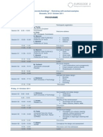 2011 EC2 Workshop Programme