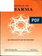 Journal of Dharma Oct - Dec. 2005 Vol. 30 No. 4