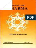 Journal of Dharma Jan - March. 2006 Vol. 31 No. 1