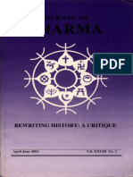 Journal of Dharma Apr. - June 2003 Vol. XXVIII No. 2