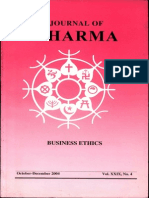Journal of Dharma Oct - Dec. 2004 Vol. XXIX No. 4